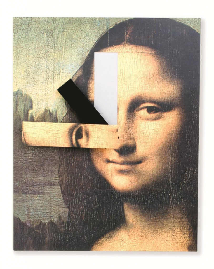 Mona Lisa Clock