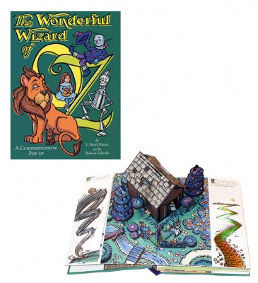 Wonderful Wizard of Oz Pop-up book