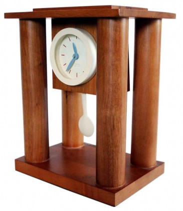 AM/PM Millennium Mantle Clock