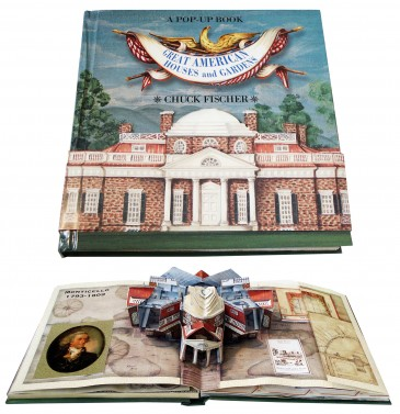 Great American Houses and Gardens : A Pop-up Book