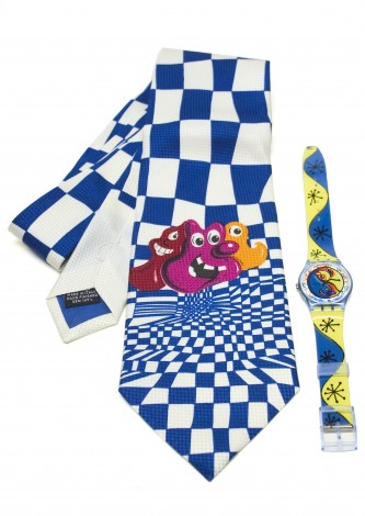 Fiz n' Zip Swatch and Tie-Him
